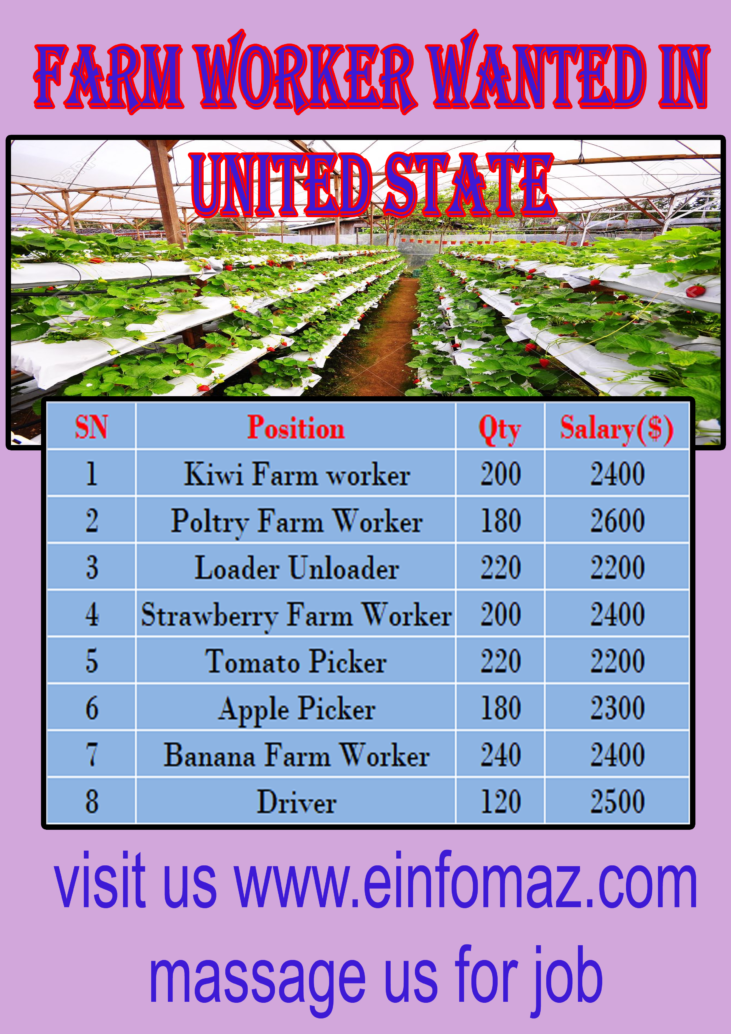 Farm Workers at United State