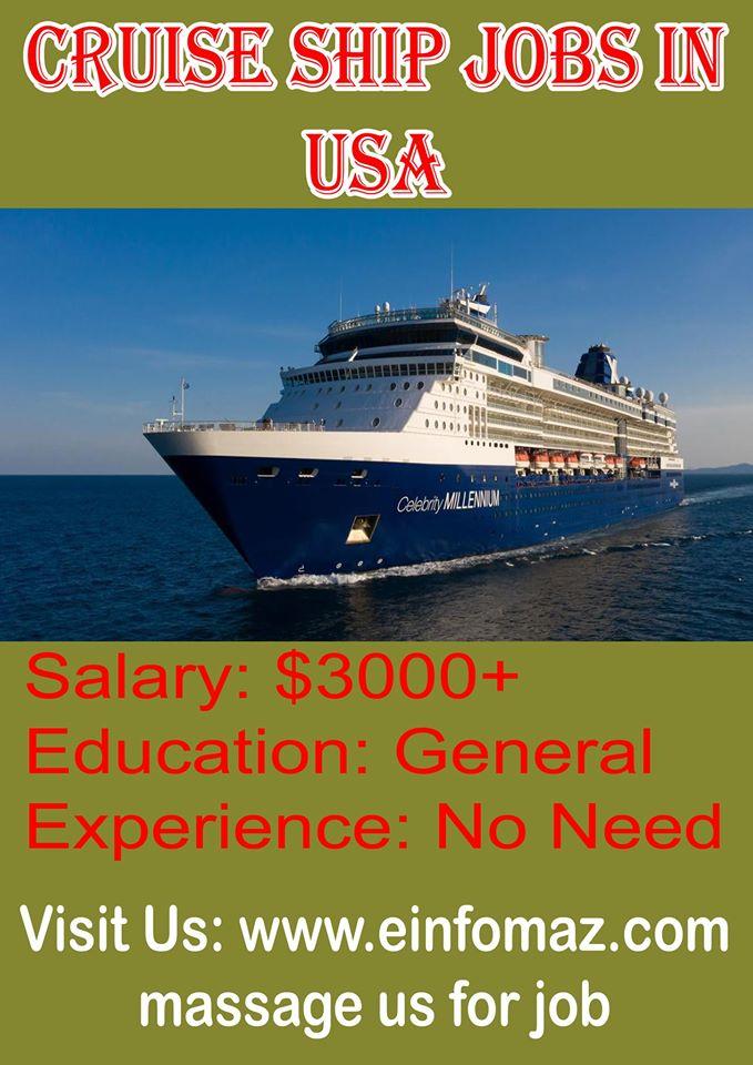 Cruise Ship Job Entry