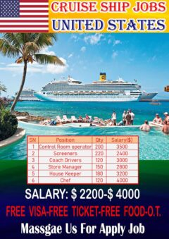 Cruise Ship Jobs Nurse