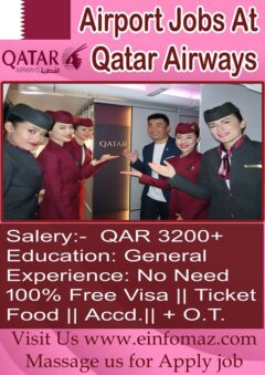 Jobs In Qatar Airport