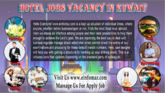 Hotel Jobs In Kuwait
