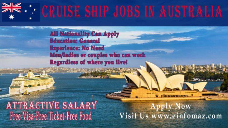 Cruise Ship Jobs AUS