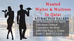 Waiter Jobs Description